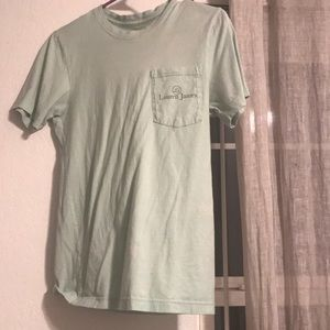 1 mint green Lauren James tee shirt.